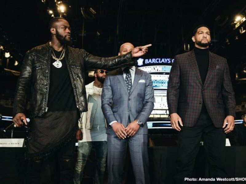 Deontay Wilder Vs Dominic Breazeale Preview Prediction The Stats