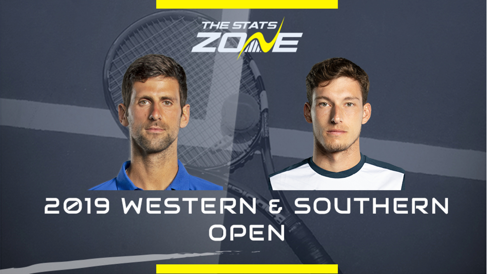 2019 Cincinnati Masters Novak Djokovic Vs Pablo Carreno Busta Preview Prediction The Stats Zone