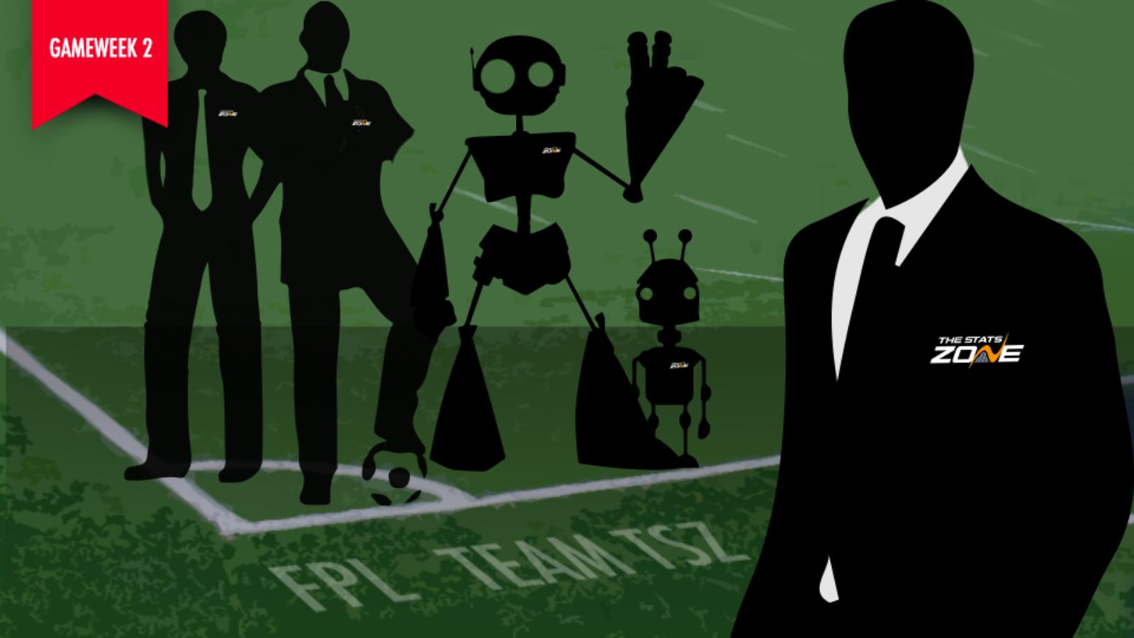FPL Gameweek 2 – Team TSZ - The Stats Zone