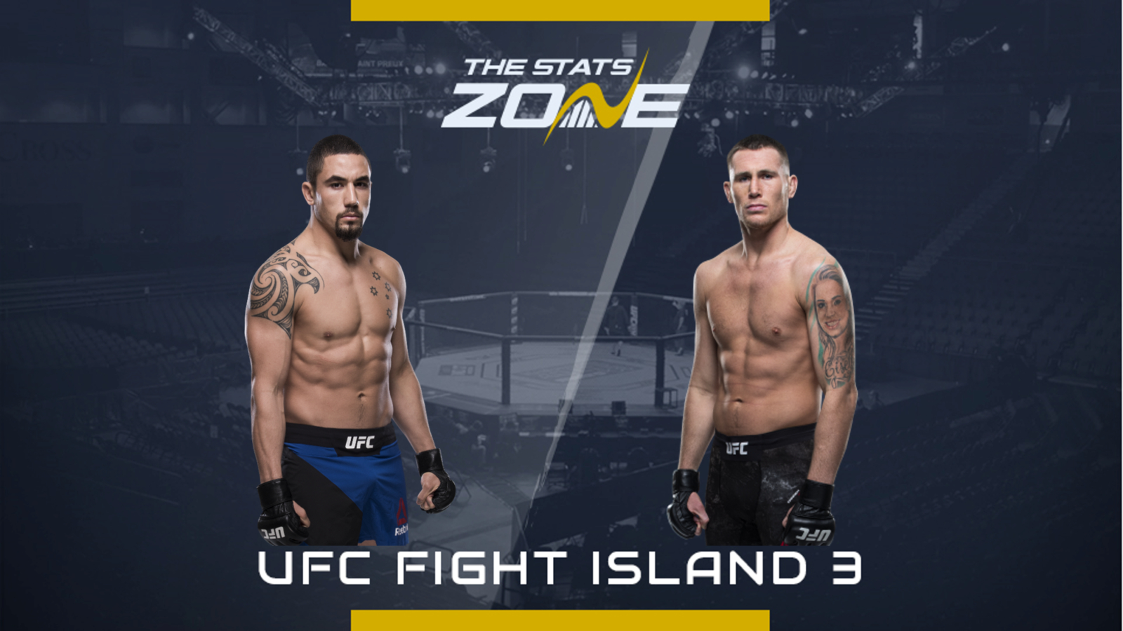 Mma Preview Robert Whittaker Vs Darren Till At Ufc Fight Island 3 The Stats Zone