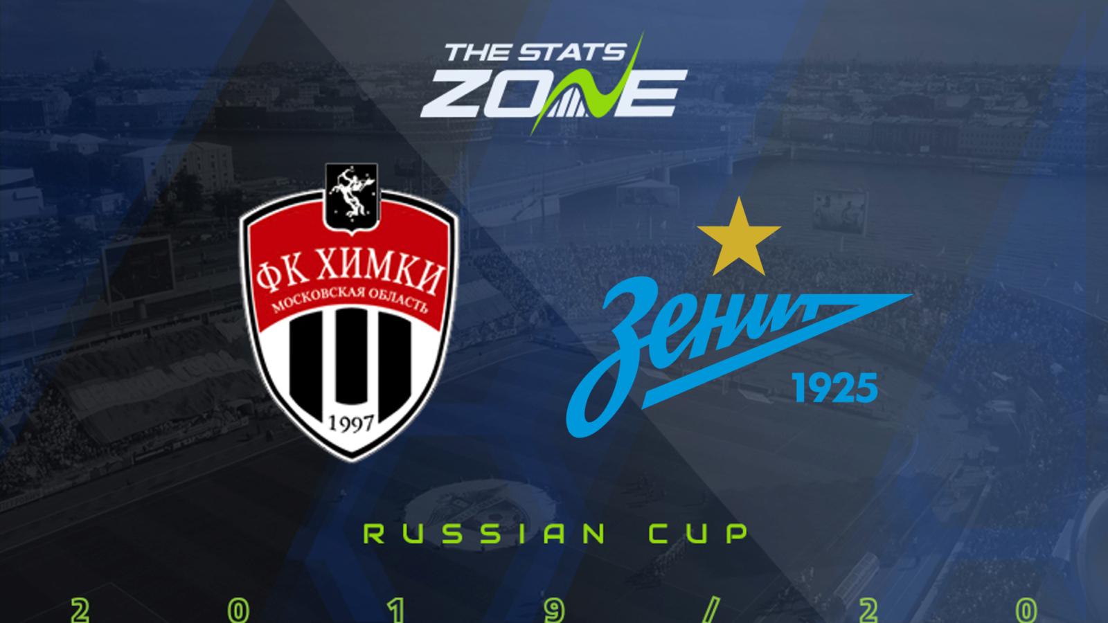 2019 20 Russian Cup Final Khimki Vs Zenit Preview Prediction The Stats Zone