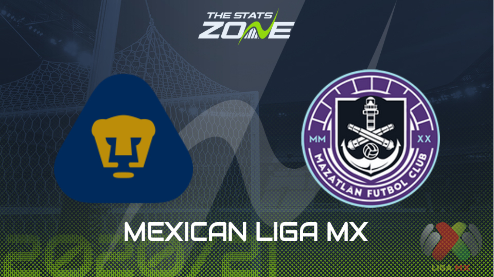Intuición Abreviar necesario  2020-21 Mexican Liga MX – Pumas UNAM vs Mazatlan Preview & Prediction - The  Stats Zone
