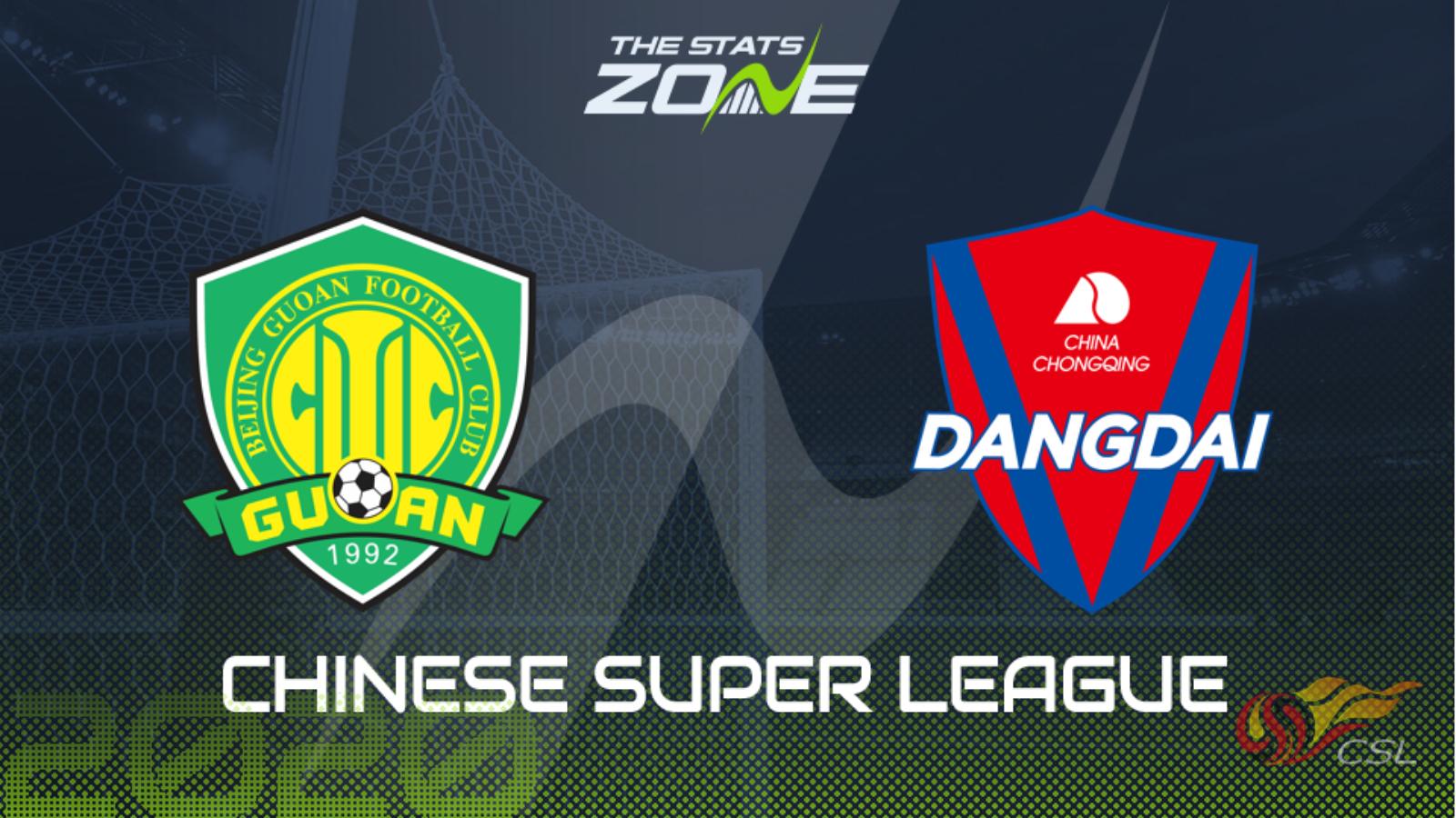 2020 Chinese Super League – Beijing Guoan vs Chongqing Dangdai Lifan Preview & Prediction - The Stats Zone