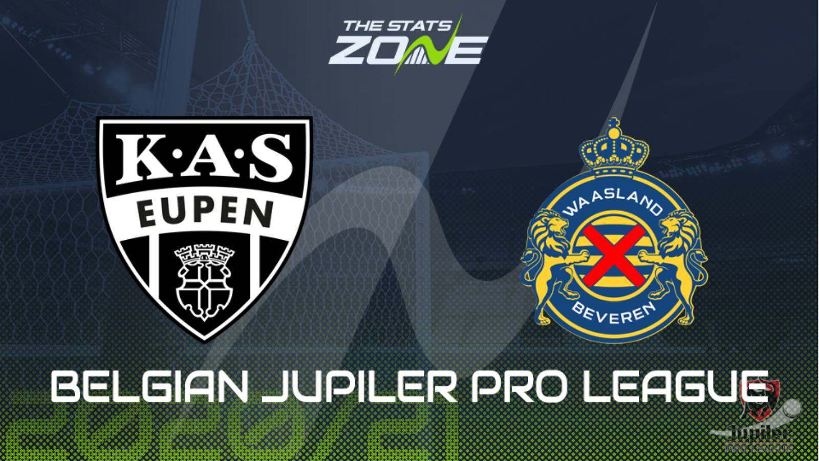 2020 21 Belgian Jupiler Pro League As Eupen Vs Waasland Beveren Preview Prediction The Stats Zone
