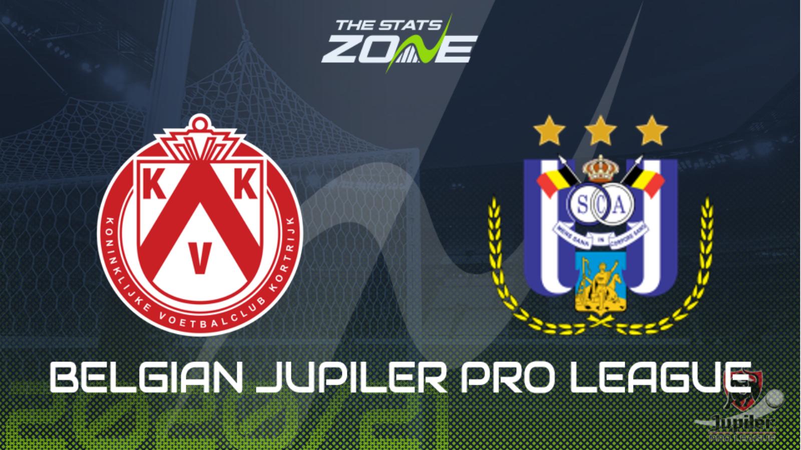 2020-21 Belgian Jupiler Pro League – Kortrijk vs Anderlecht Preview &  Prediction - The Stats Zone