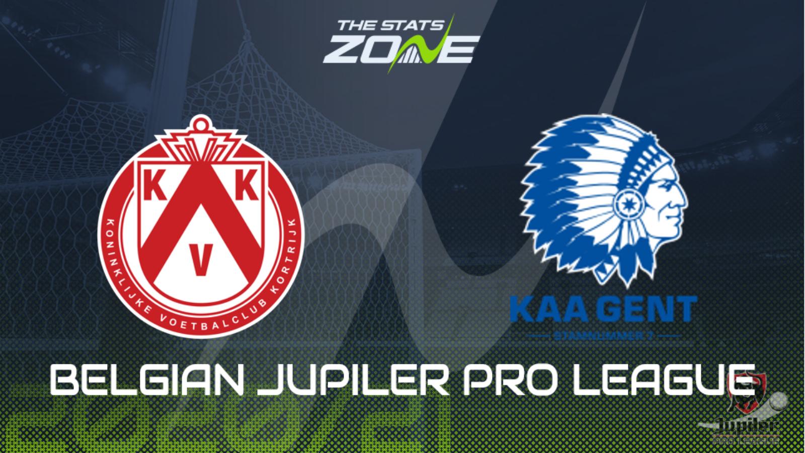 2020 21 Belgian Jupiler Pro League Kortrijk Vs Gent Preview Prediction The Stats Zone