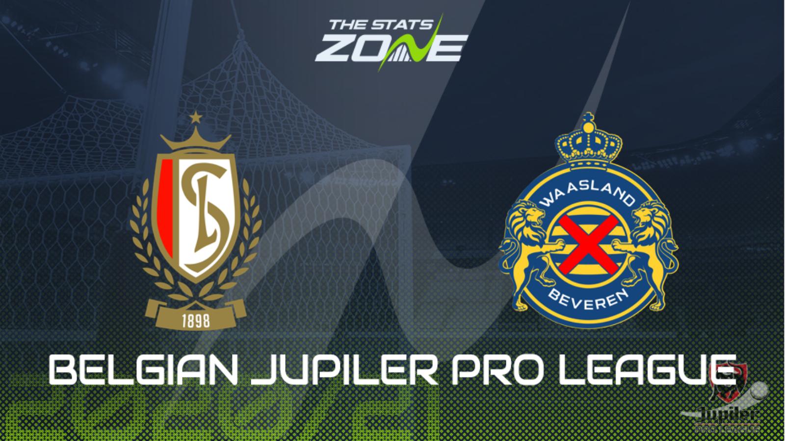 2020 21 Belgian Jupiler Pro League Standard Liege Vs Waasland Beveren Preview Prediction The Stats Zone