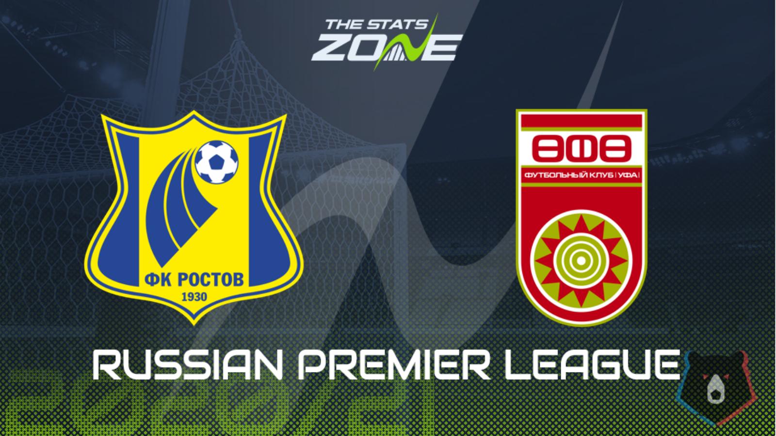 Rostov vs ufa betting expert basketball spanky sports betting