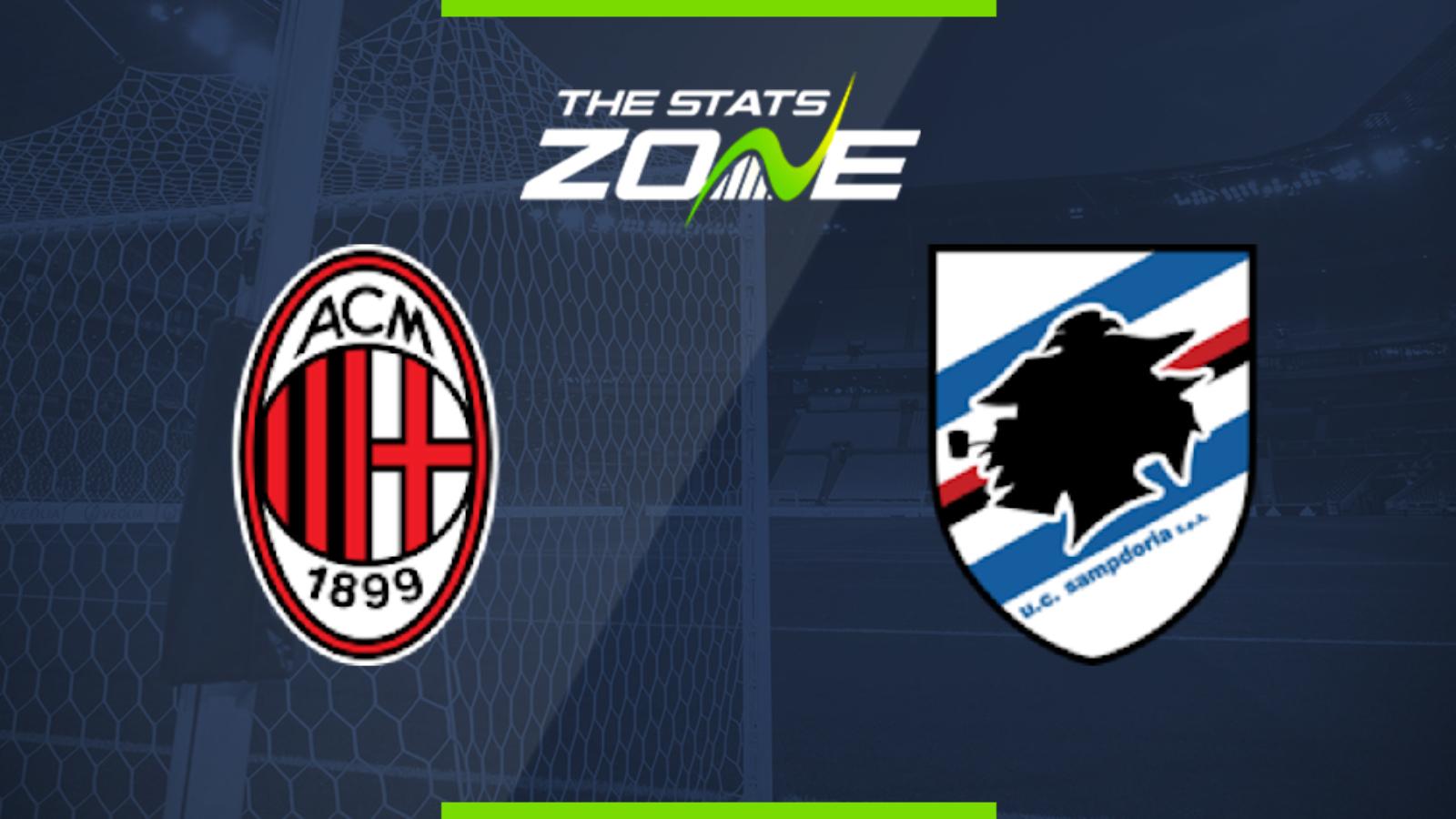 Ac milan vs sampdoria betting tips dagoo sports betting plc software