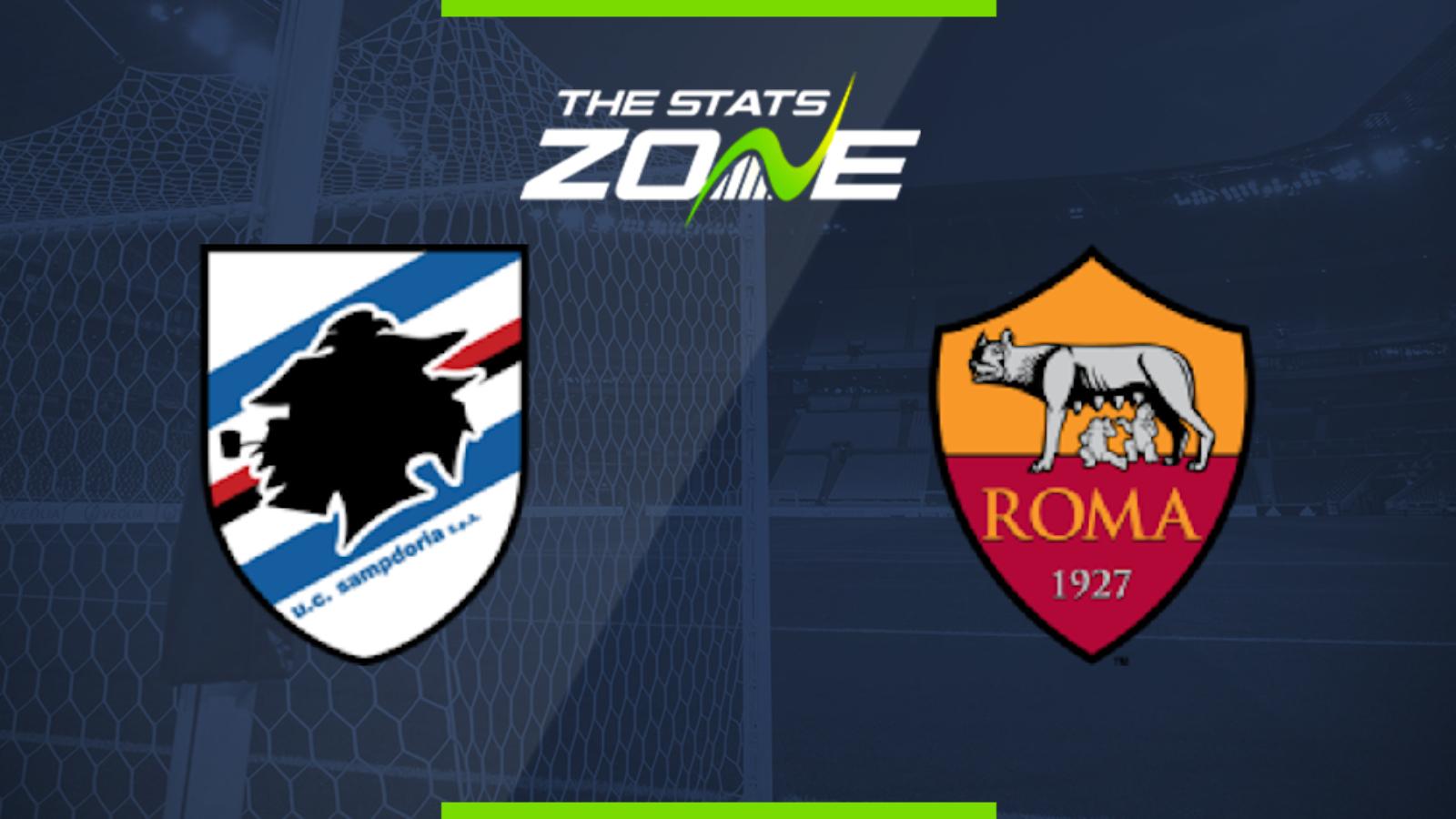 sampdoria vs roma betting preview