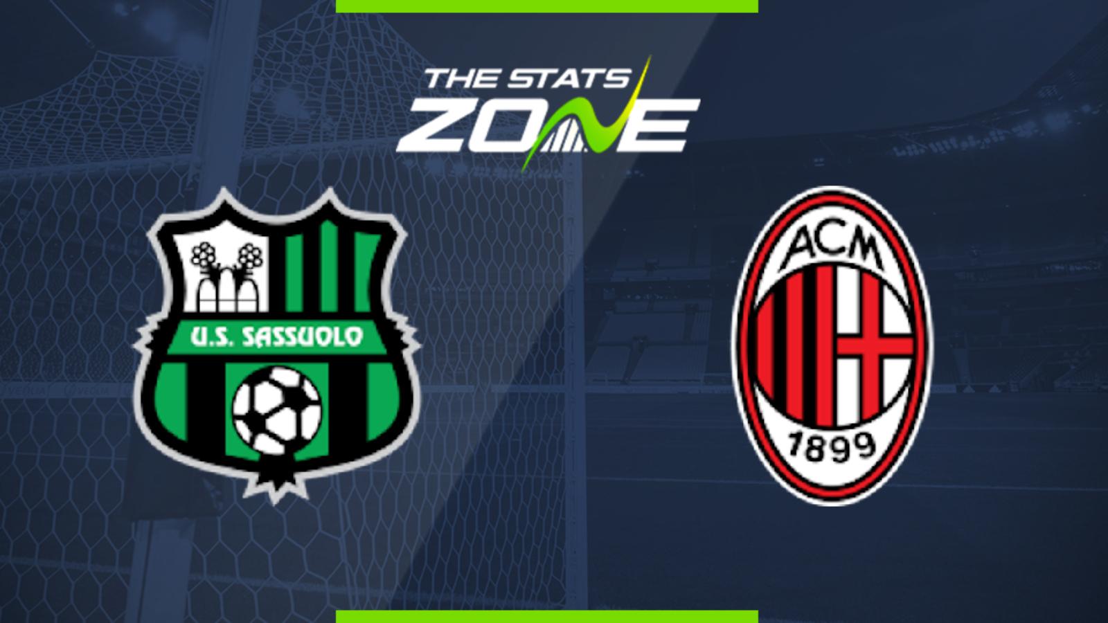 Sassuolo vs. AC Milan - Football Match Report