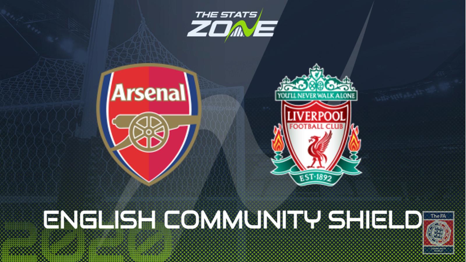 2020 Fa Community Shield Arsenal Vs Liverpool Preview Prediction The Stats Zone