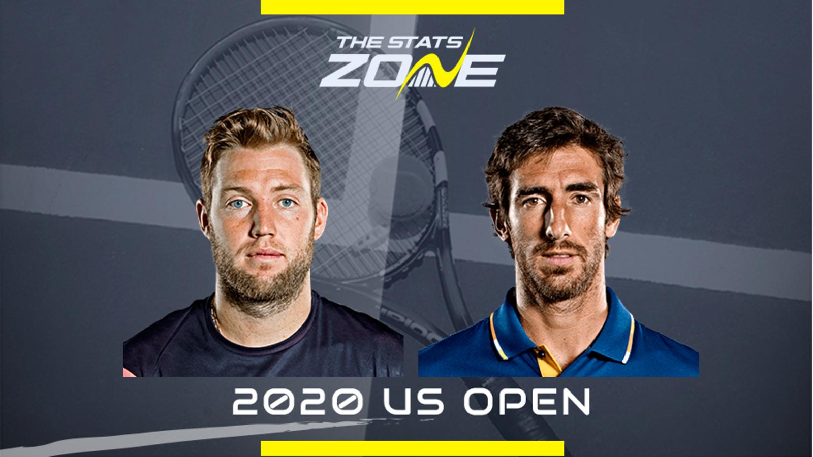 2020 Us Open Jack Sock Vs Pablo Cuevas Preview Prediction The Stats Zone