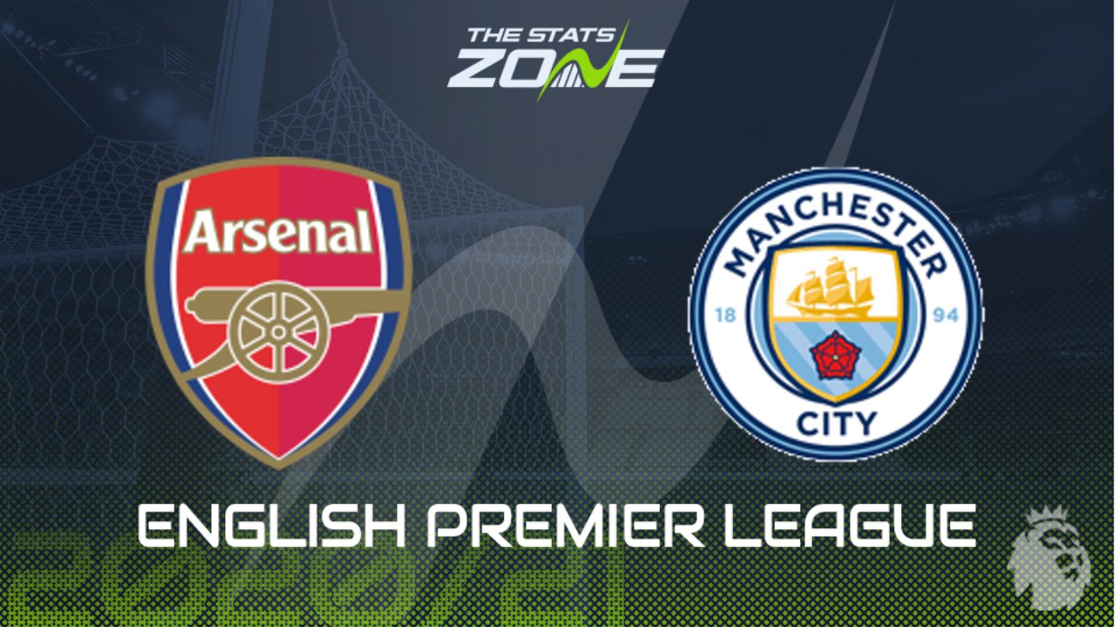 2020 21 Premier League Arsenal Vs Man City Preview Prediction The Stats Zone
