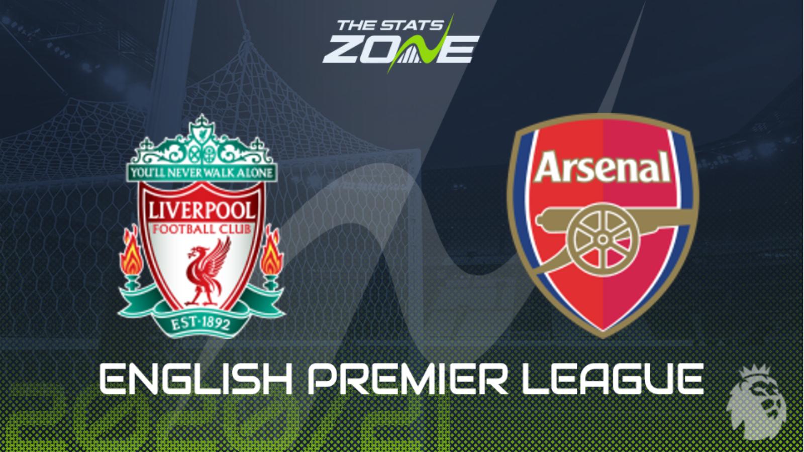 2020 21 Premier League Liverpool Vs Arsenal Preview Prediction The Stats Zone