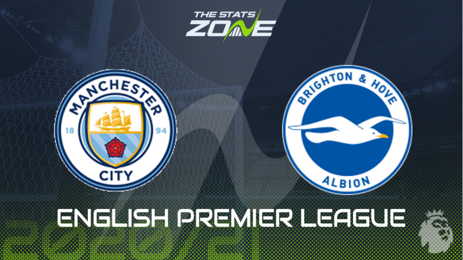 2020-21 Premier League – Man City vs Brighton Preview & Prediction - The  Stats Zone