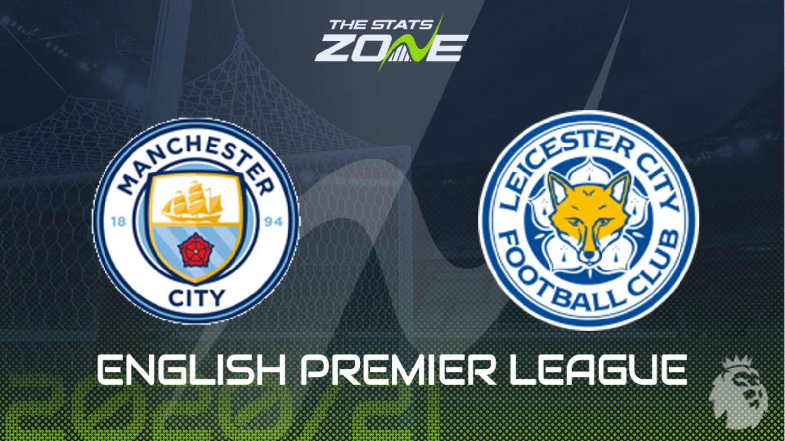 2020 21 Premier League Man City Vs Leicester Preview Prediction The Stats Zone