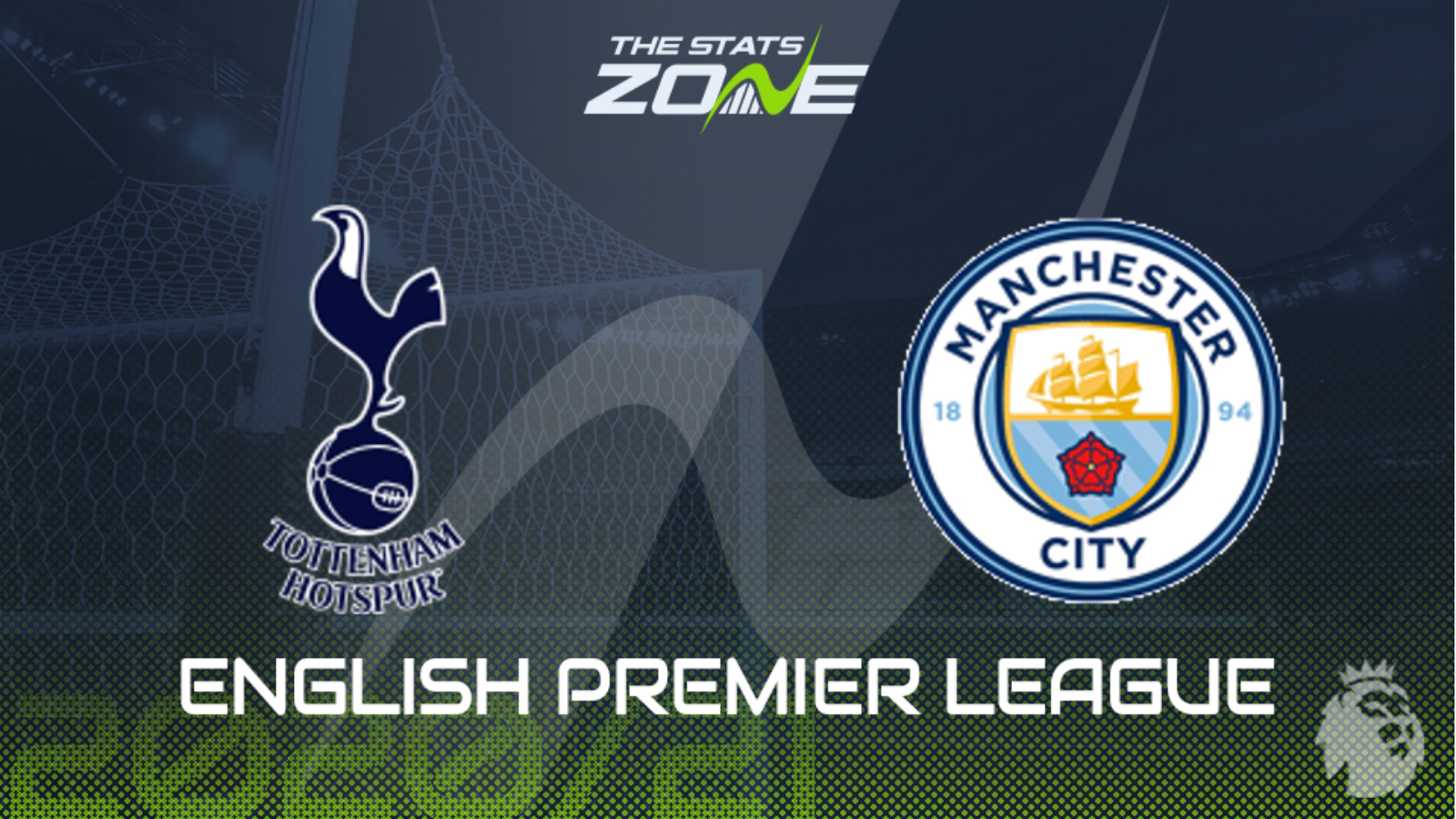 2020 21 Premier League Tottenham Vs Man City Extended Preview Match Prediction The Stats Zone