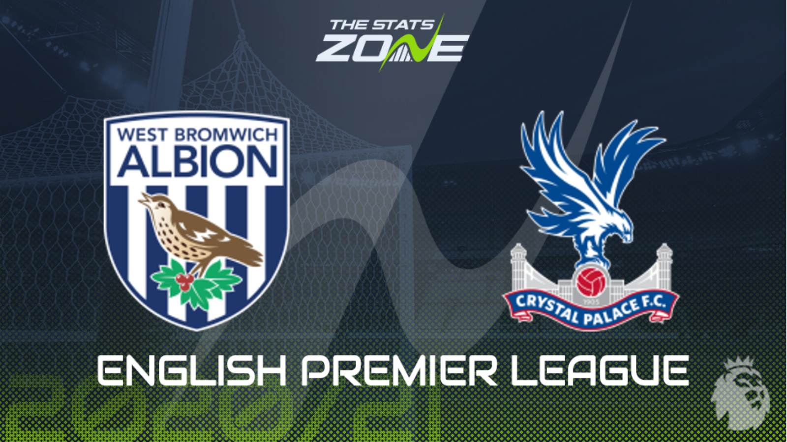 2020 21 Premier League West Brom Vs Crystal Palace Preview Prediction The Stats Zone