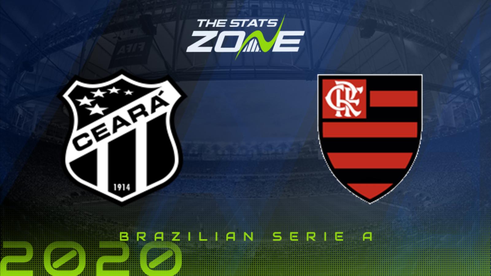 2020 Brazilian Serie A Ceara Vs Flamengo Preview Prediction The Stats Zone