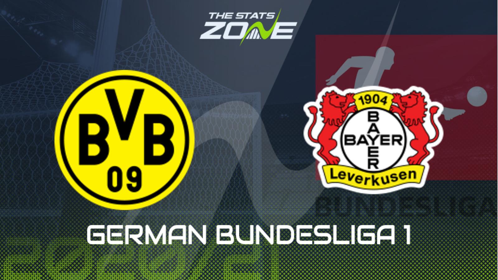 2020 21 German Bundesliga Borussia Dortmund Vs Bayer Leverkusen Preview Prediction The Stats Zone