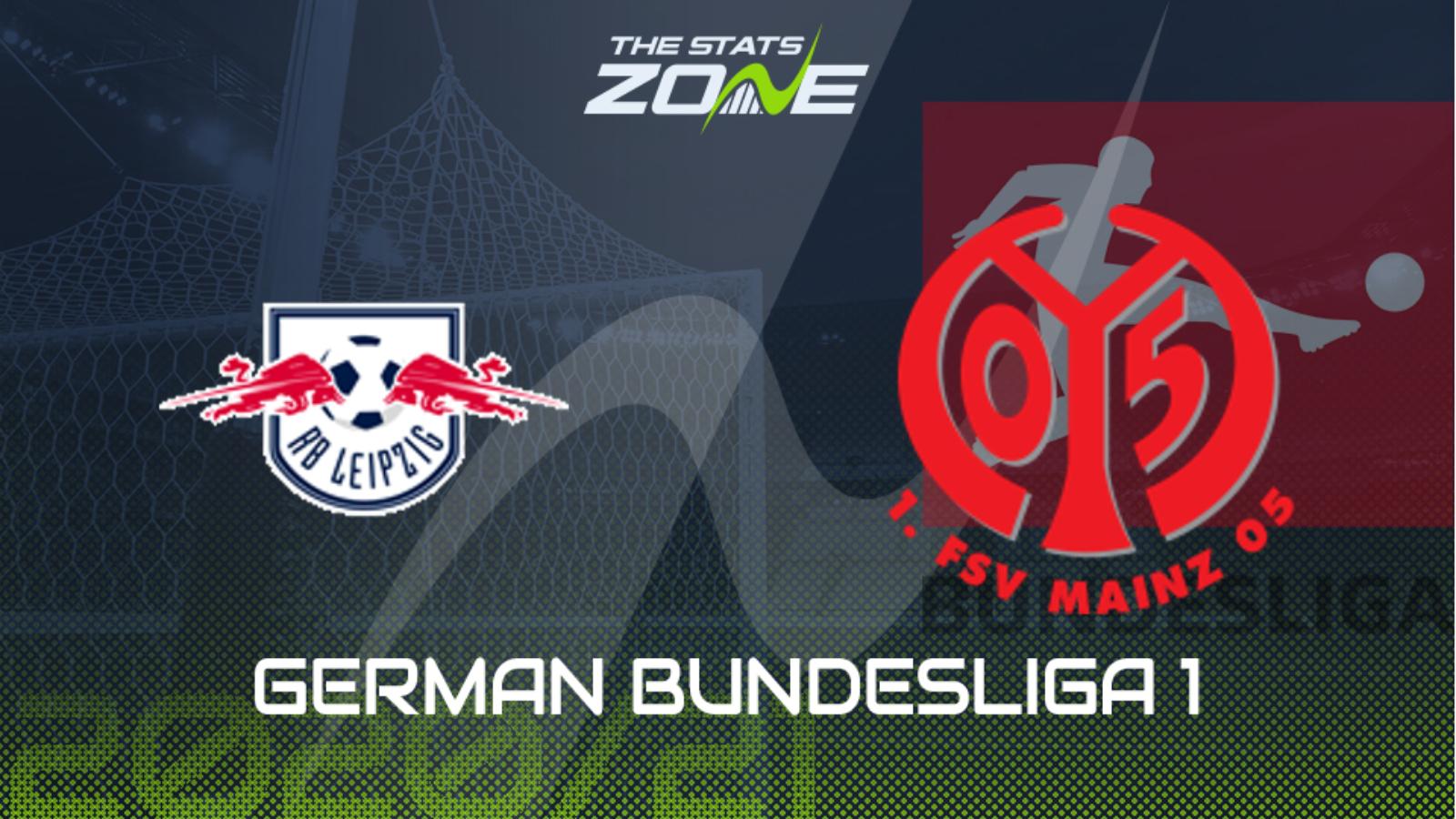 2020 21 Bundesliga Rb Leipzig Vs Mainz Preview Prediction The Stats Zone