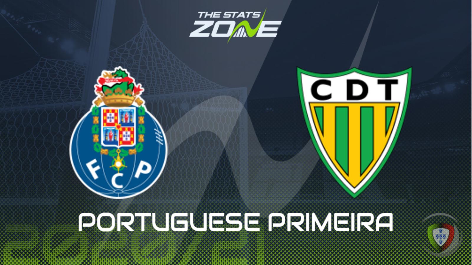 2020-21 Portuguese Primeira Liga - FC Porto vs Tondela Preview & Prediction - The Stats Zone
