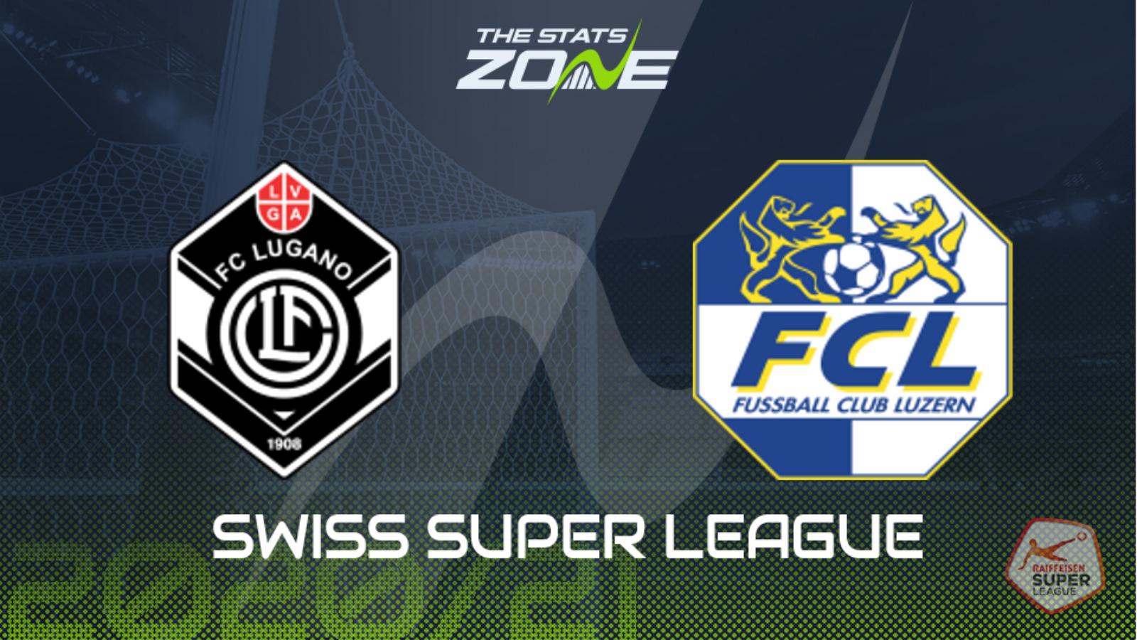 2020-21 Swiss Super League - Lugano vs Luzern Preview ...