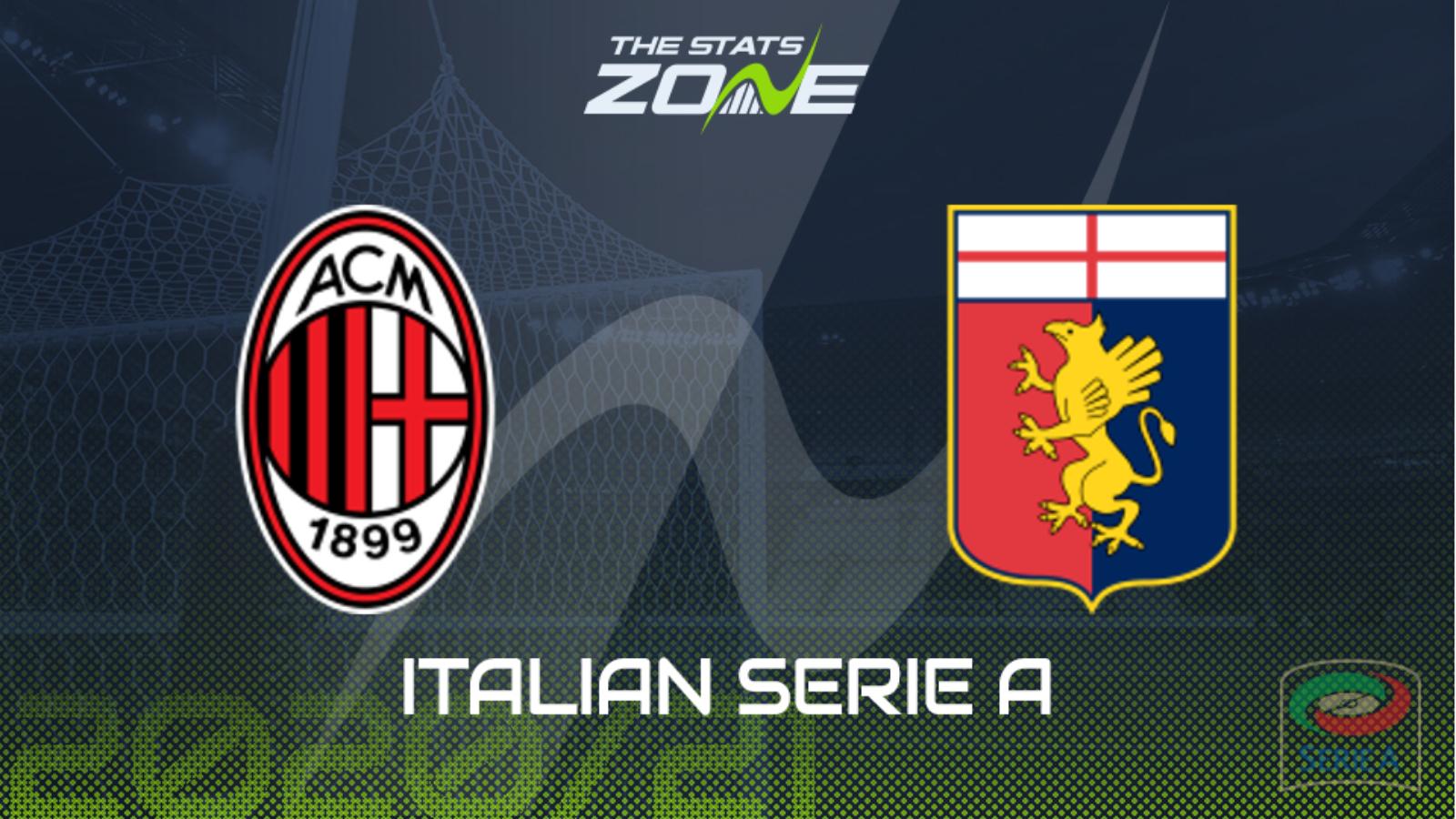 AC Milan vs Genoa Full Match – Serie A 2020/21