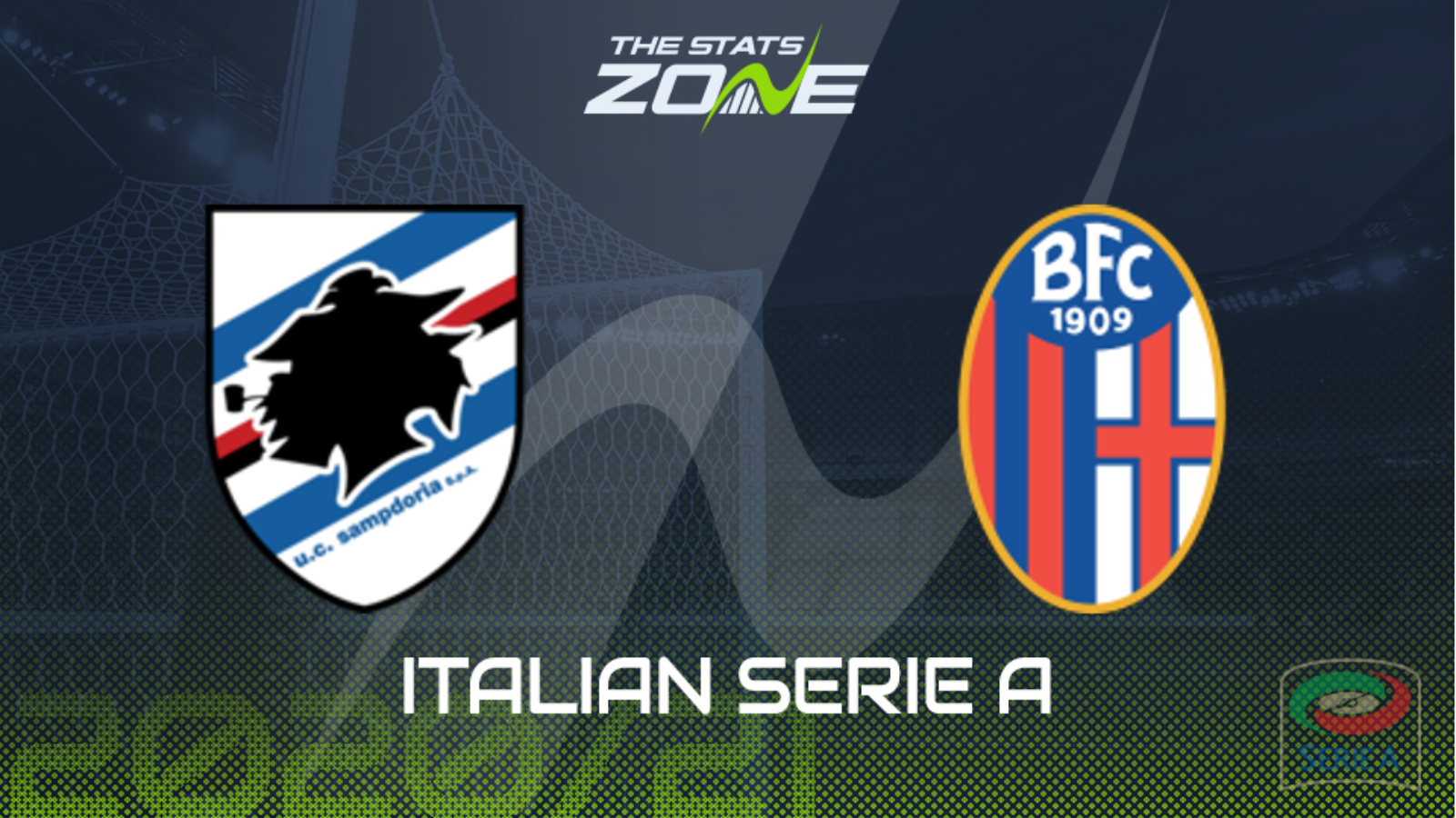 2020-21 Serie A – Sampdoria vs Bologna Preview & Prediction - The Stats Zone