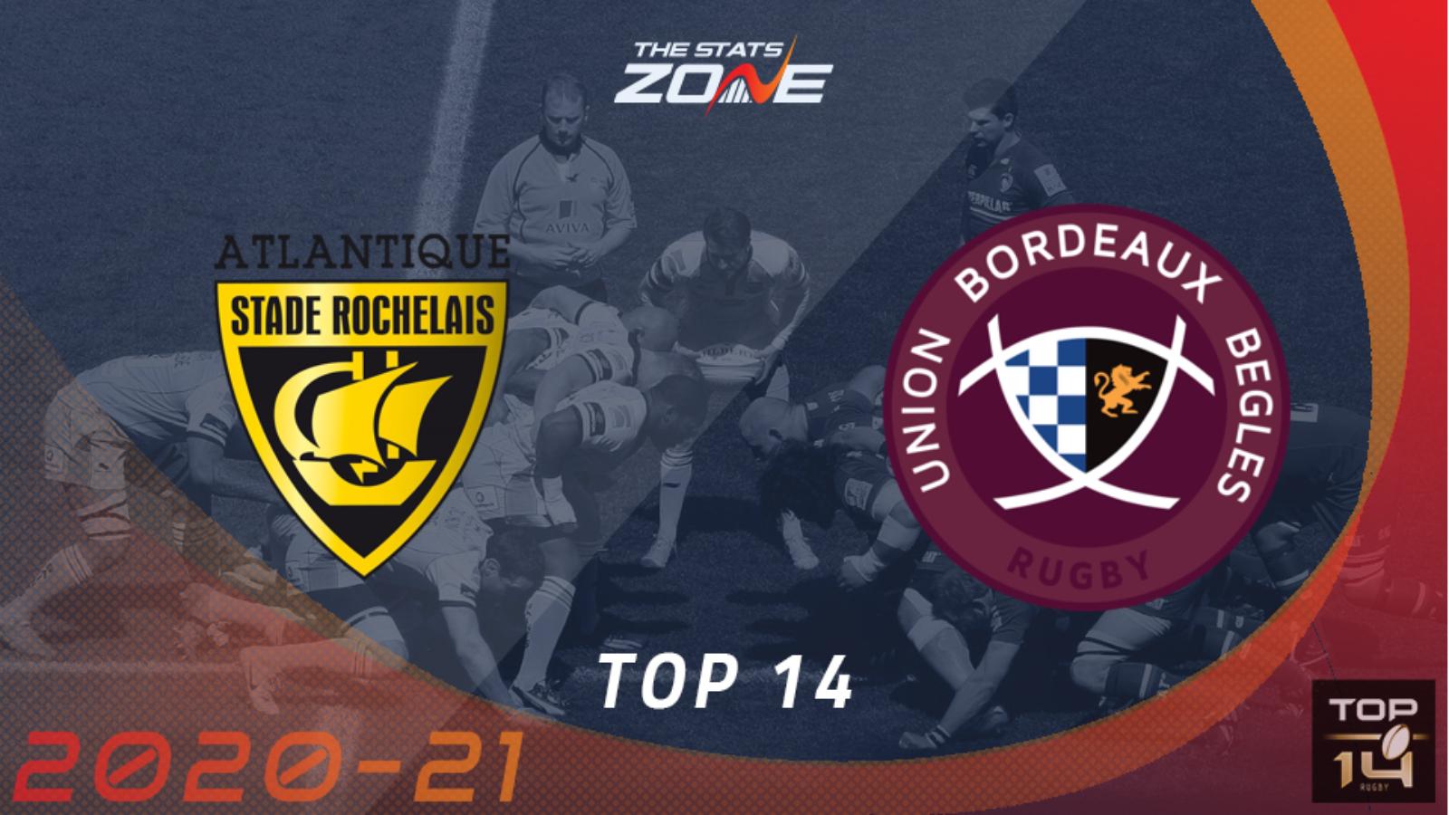 la rochelle vs bordeaux begles top 14 2021 background.