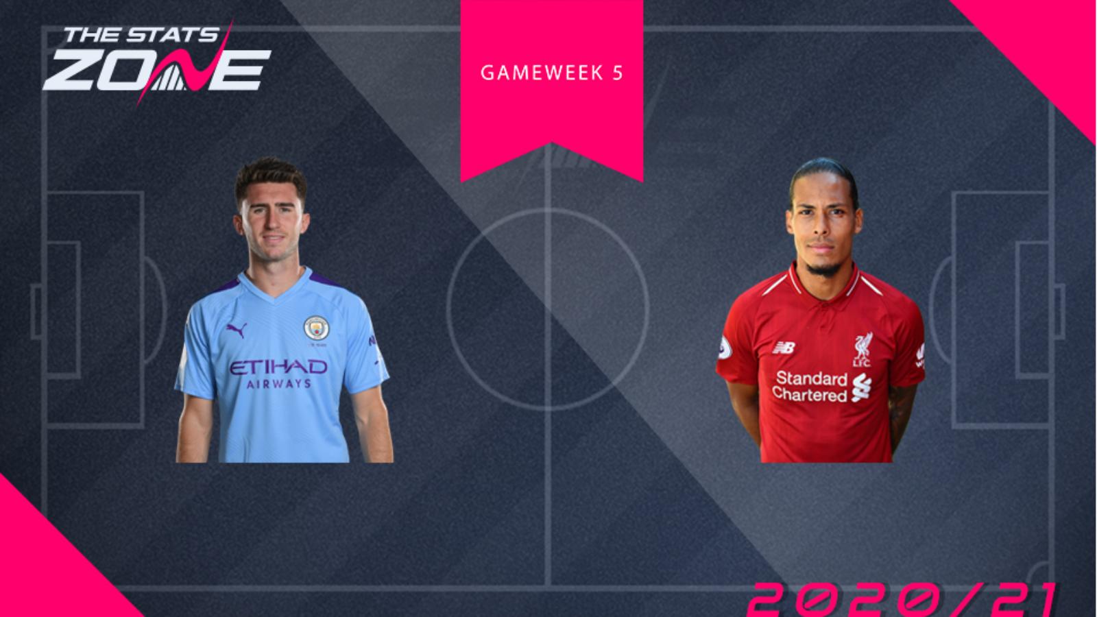 Fpl Gameweek 5 Head To Head Comparisons Aymeric Laporte Vs Virgil Van Dijk The Stats Zone