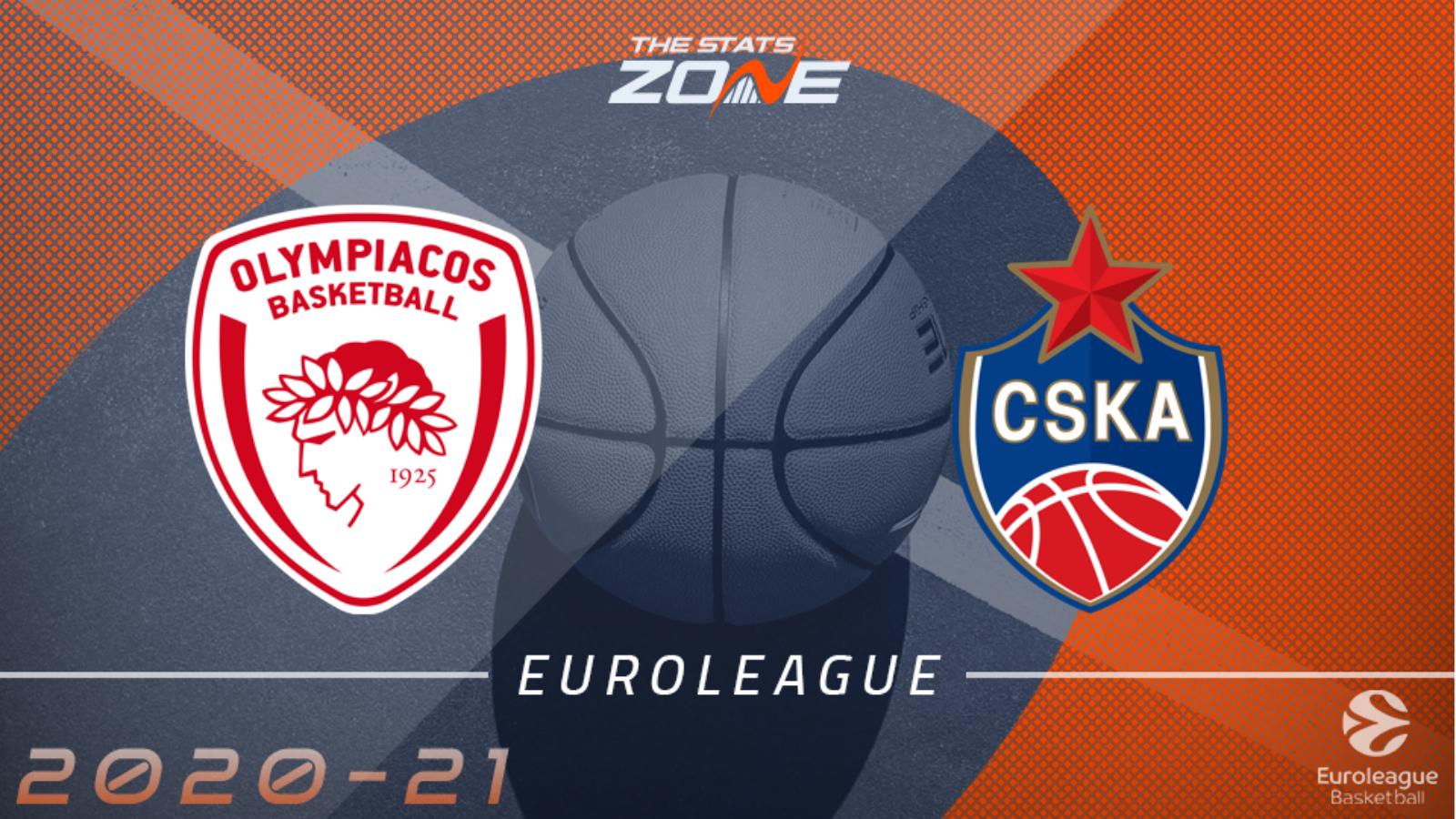 ΟΛΥΜΠΙΑΚΟΣ – ΤΣΣΚΑ ΜΟΣΧΑΣ  Olympiakos vs CSKA Moscow    live streaming