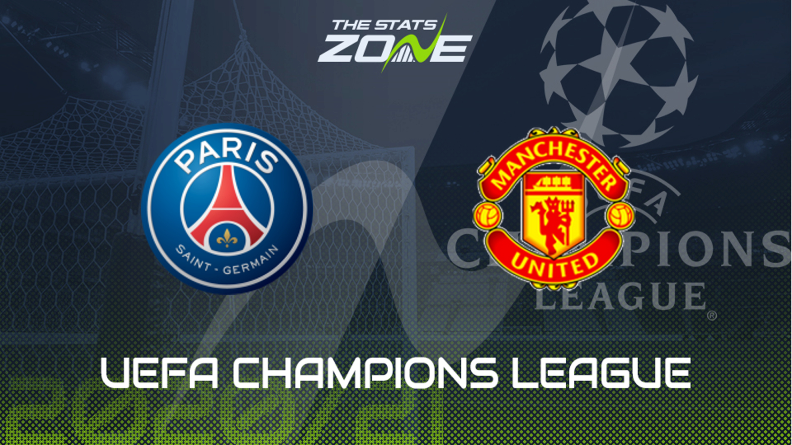 2020 21 Uefa Champions League Psg Vs Man Utd Preview Prediction The Stats Zone