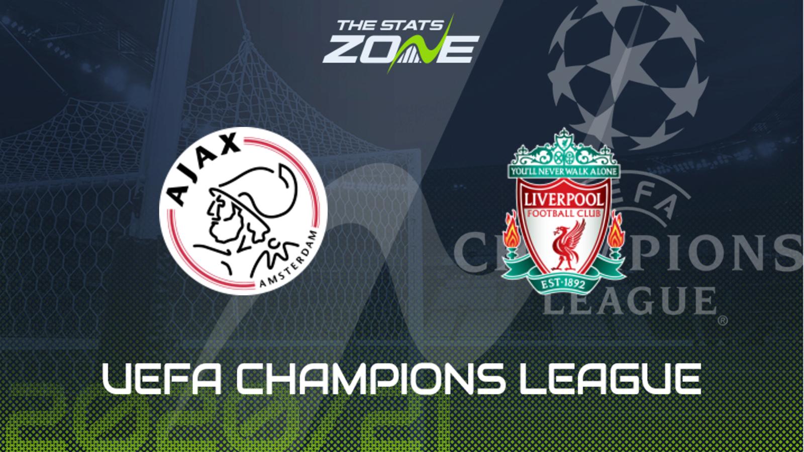 2020-21 UEFA Champions League – Ajax vs Liverpool Preview ...