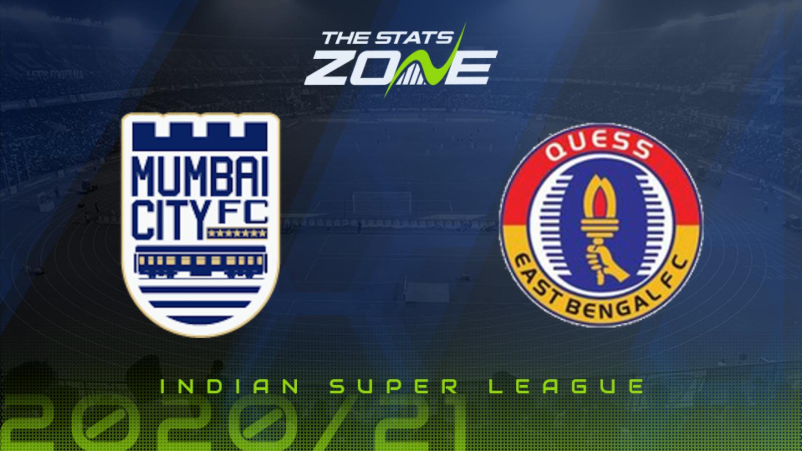 2020-21 Indian Super League - Mumbai City vs East Bengal ...