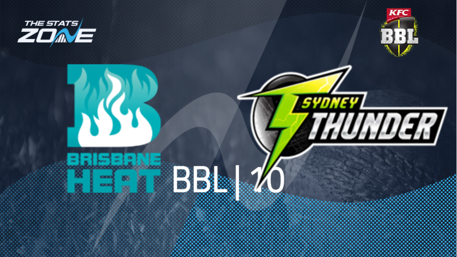 Sydney thunder vs brisbane heat betting line betting rates for cricket