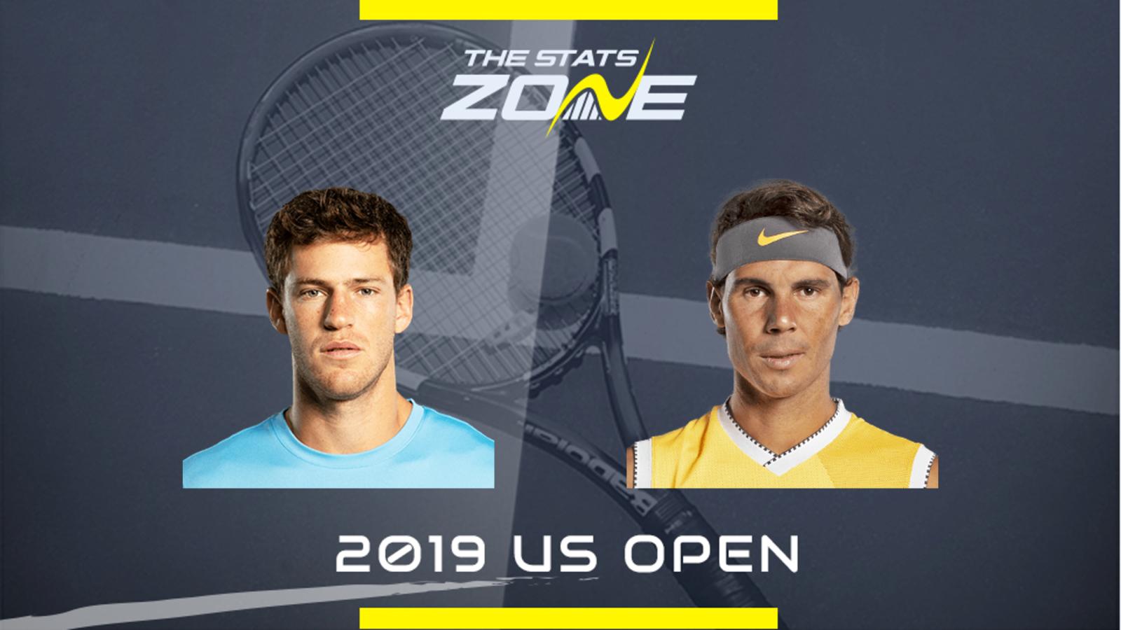 2019 Us Open Diego Schwartzman Vs Rafael Nadal Preview Prediction The Stats Zone