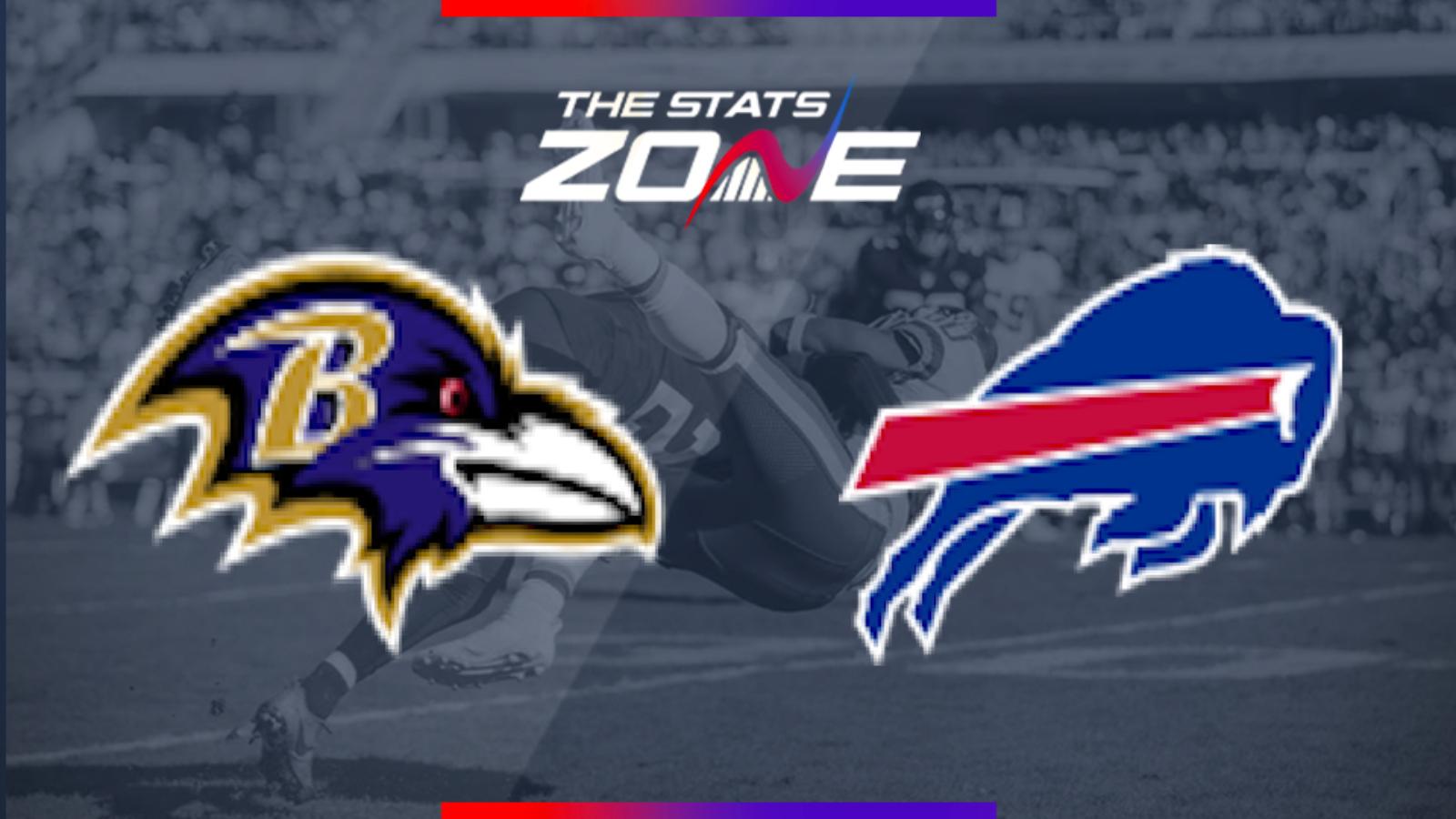 2019 Nfl Baltimore Ravens Buffalo Bills Preview Pick The Stats Zone