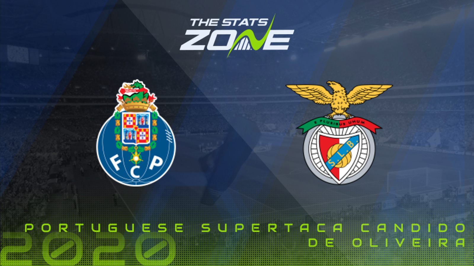 2020-21 Portuguese Super Cup - FC Porto vs Benfica Preview & Prediction - The Stats Zone