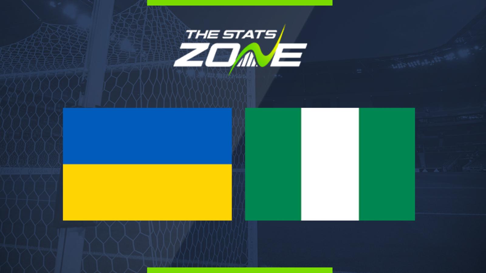 Ukraine Vs Nigeria