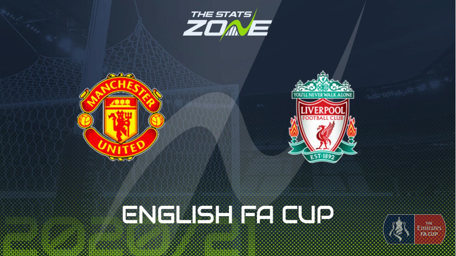 2020 21 Fa Cup Man Utd Vs Liverpool Preview Prediction The Stats Zone