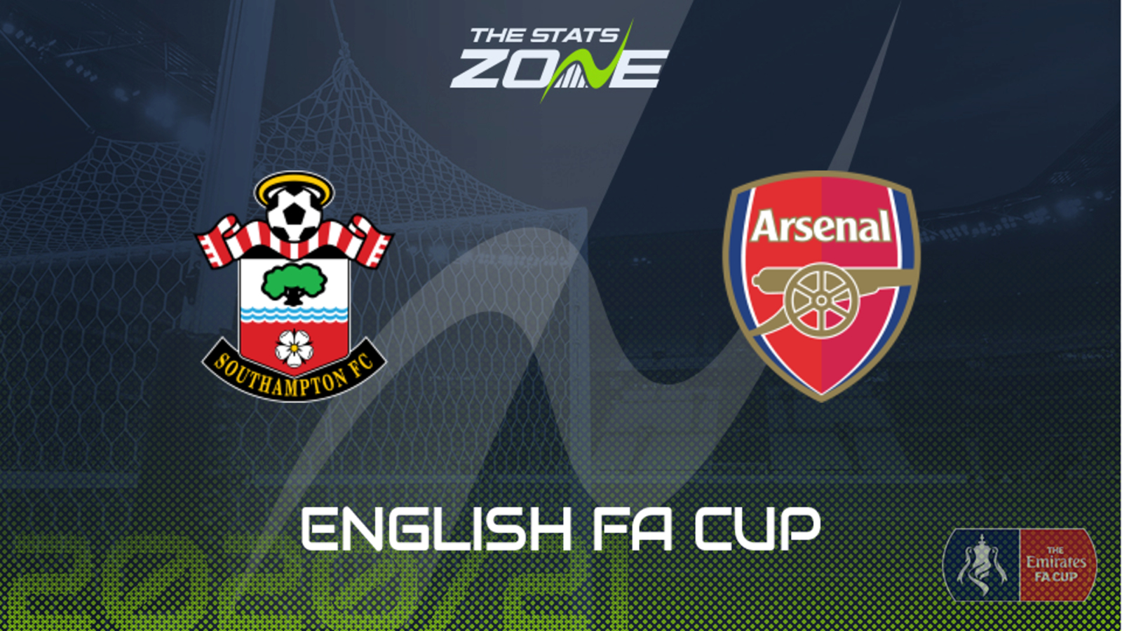 2020-21 FA Cup – Southampton vs Arsenal Preview & Prediction - The Stats  Zone