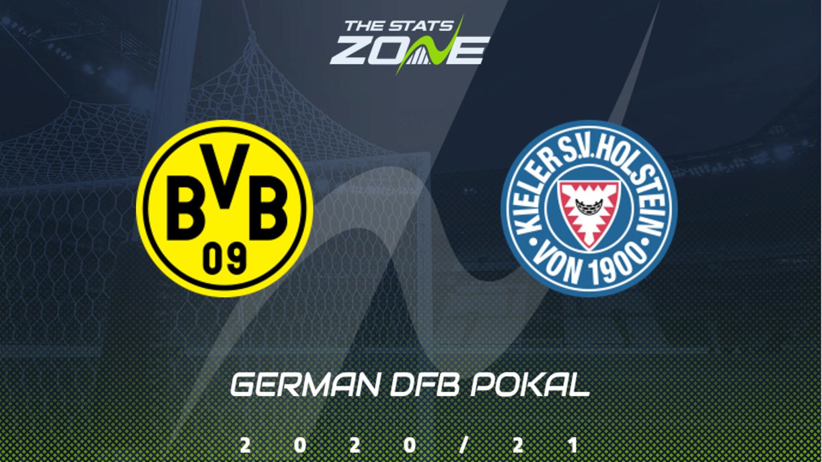 Dortmund vs Holstein Kiel Full Match – DFB Pokal 2020/21