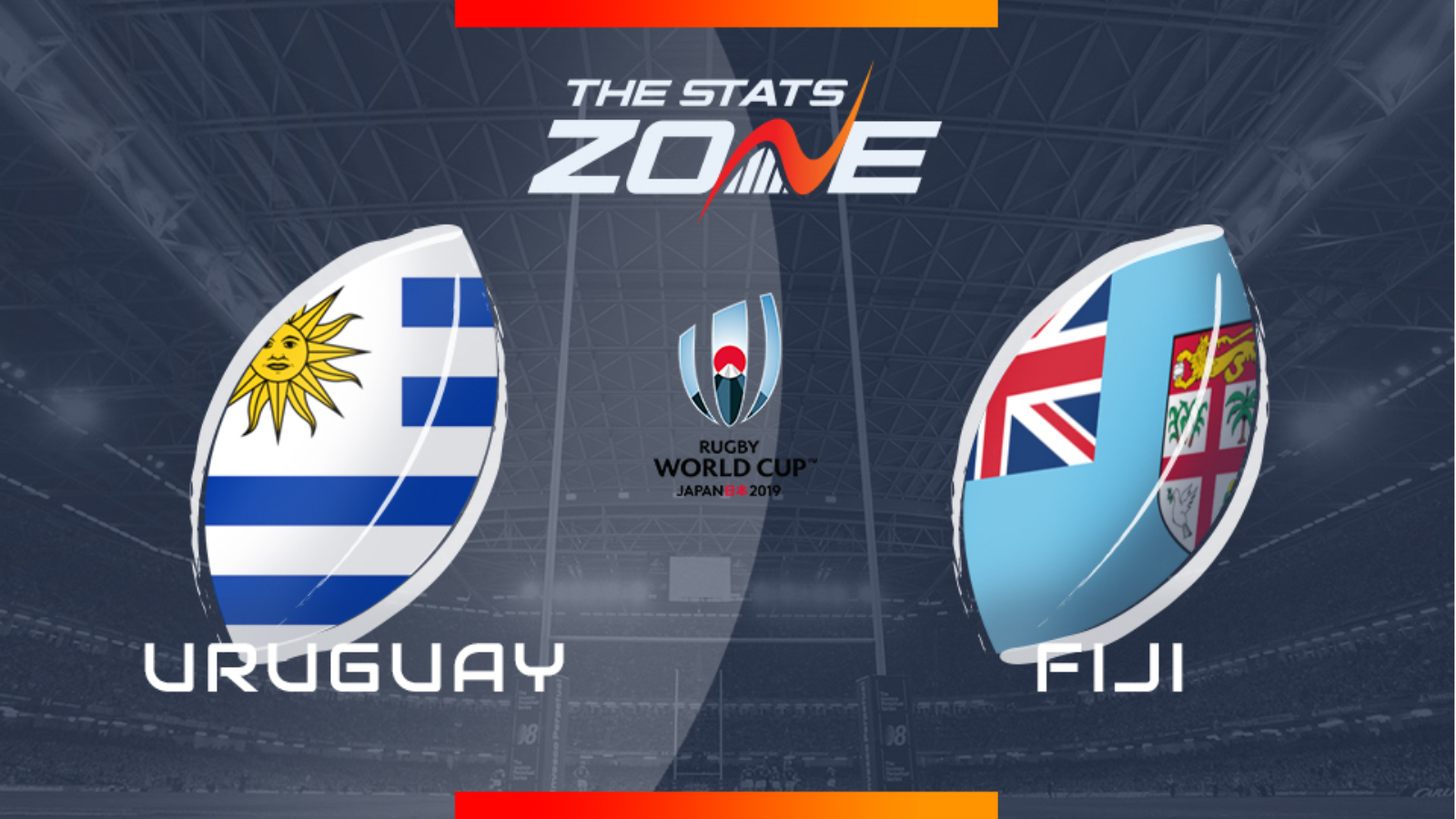 Fiji expected to be too good for Uruguay in Rugby World Cup