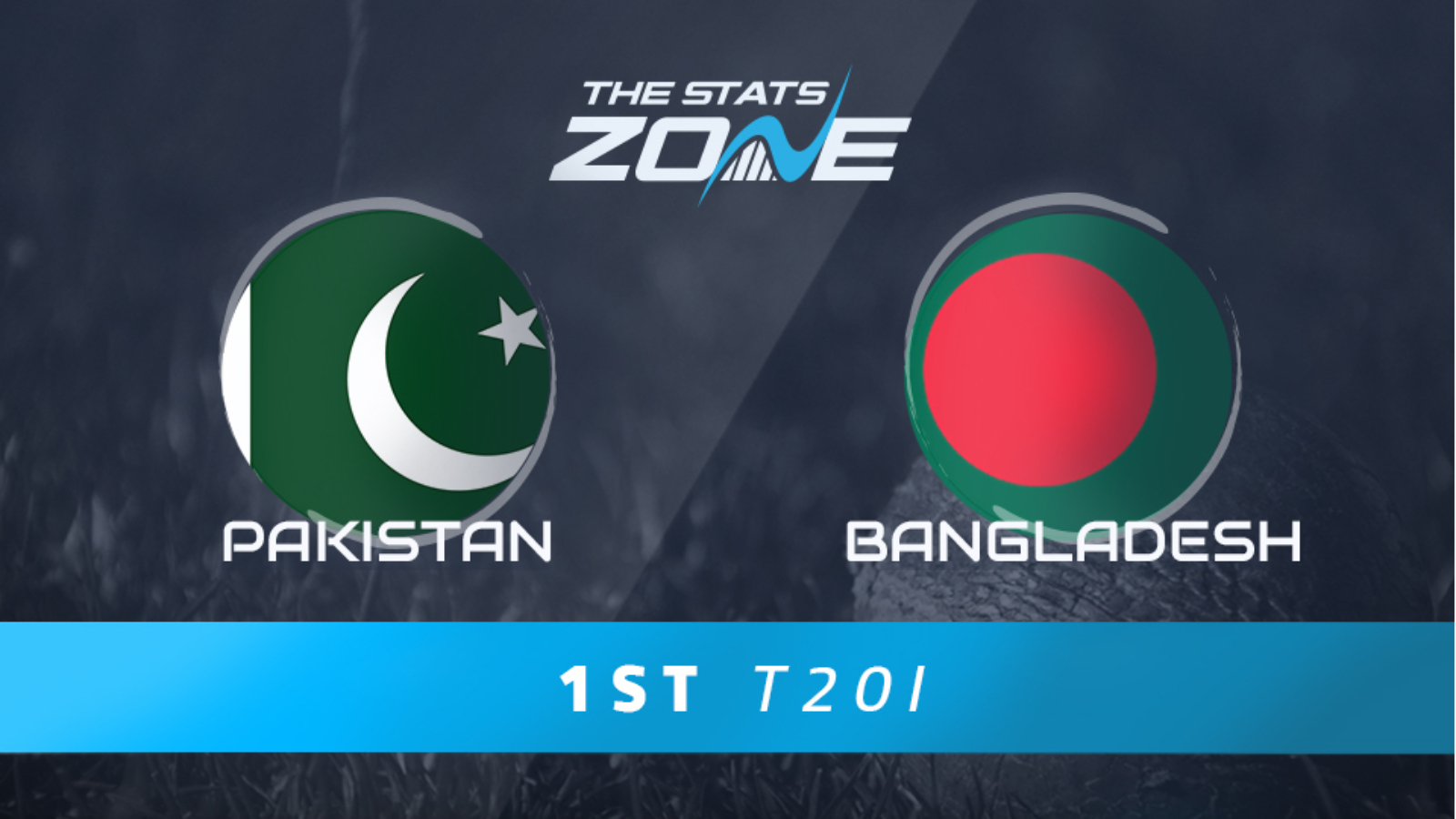 Bangladesh v Pakistan 1st T20I in Numbers