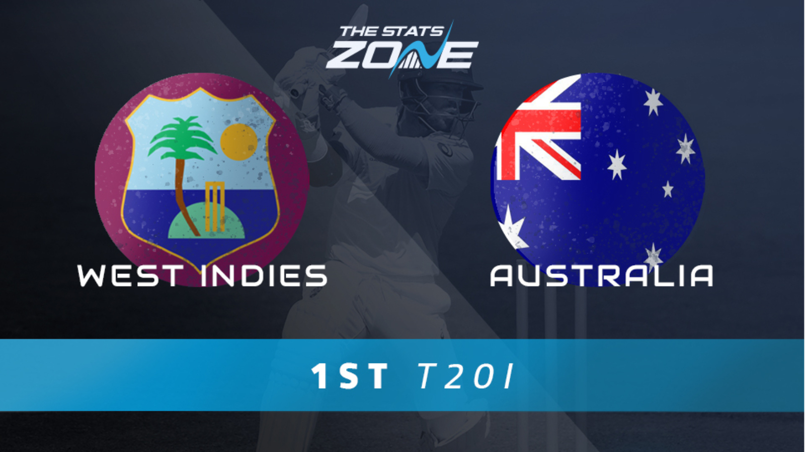 West Indies Vs Australia 1st T20 International Preview Prediction The Stats Zone