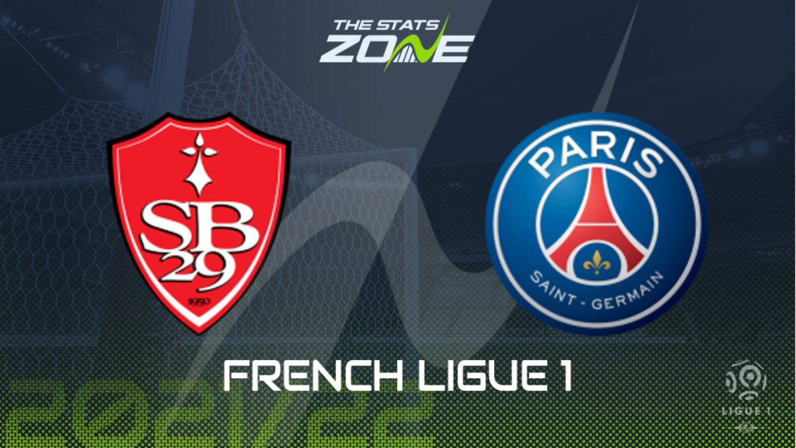 Brest vs PSG Preview & Prediction - The Stats Zone