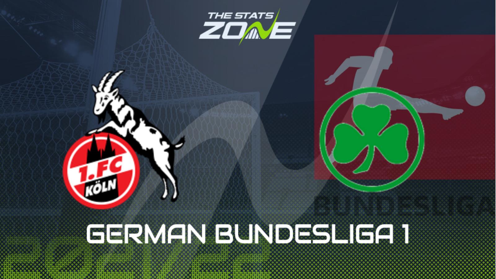 Koln vs Greuther Furth Highlights 01 October 2021