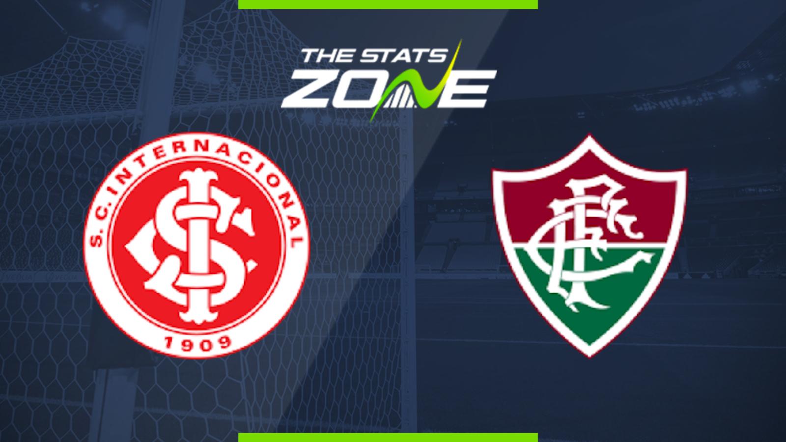 2019 Brazilian Serie A Internacional Vs Fluminense Preview Prediction The Stats Zone
